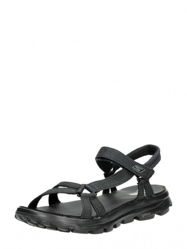 Skechers On The Go dames sandalen - Zwart online kopen