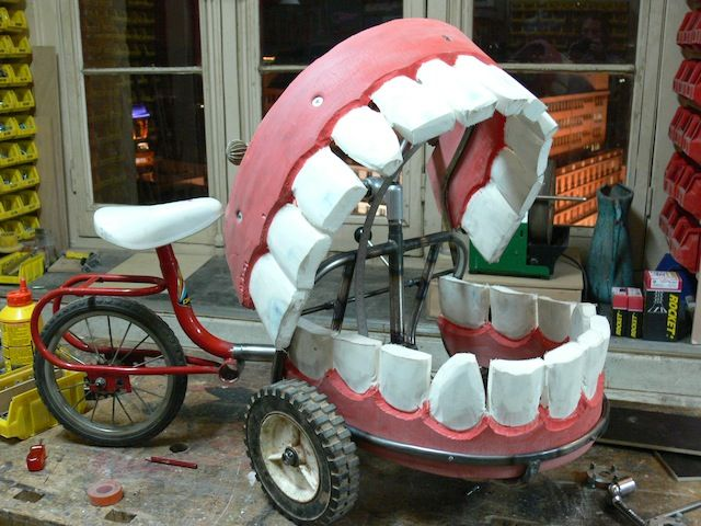 Le dentier à roulettes: Jérémie Legroux ©