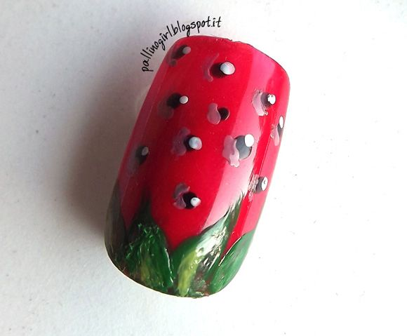 Tutorial Nail Art – Estate e Frutta: la Fragola