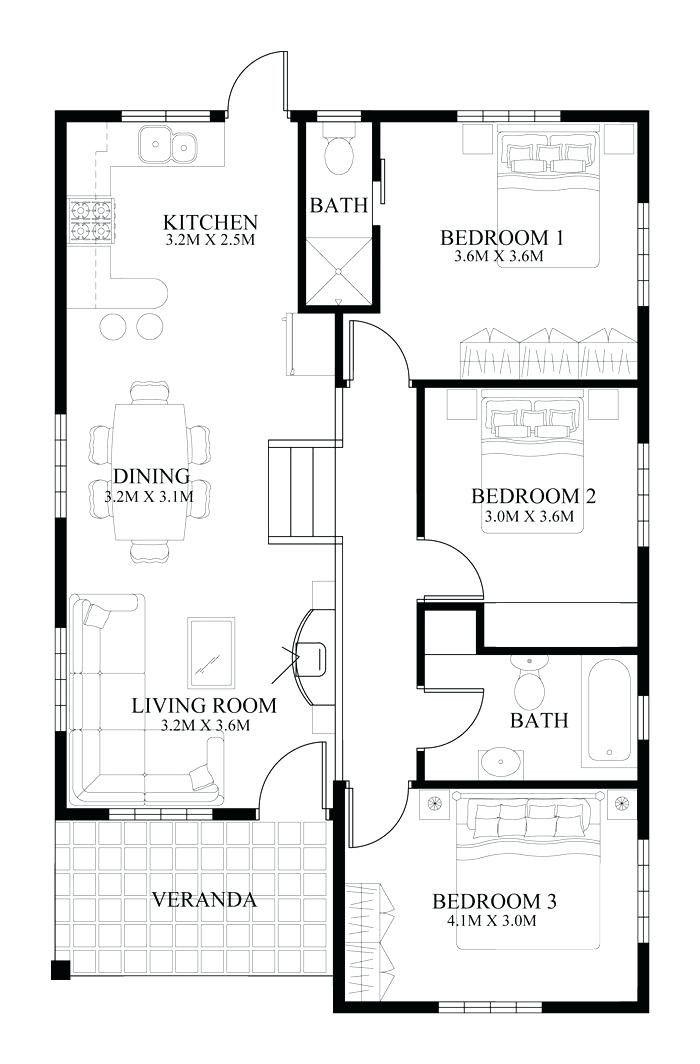 Modern House Plans India 2021 Di 2020 Denah Lantai Rumah Denah Rumah Denah Desain Rumah
