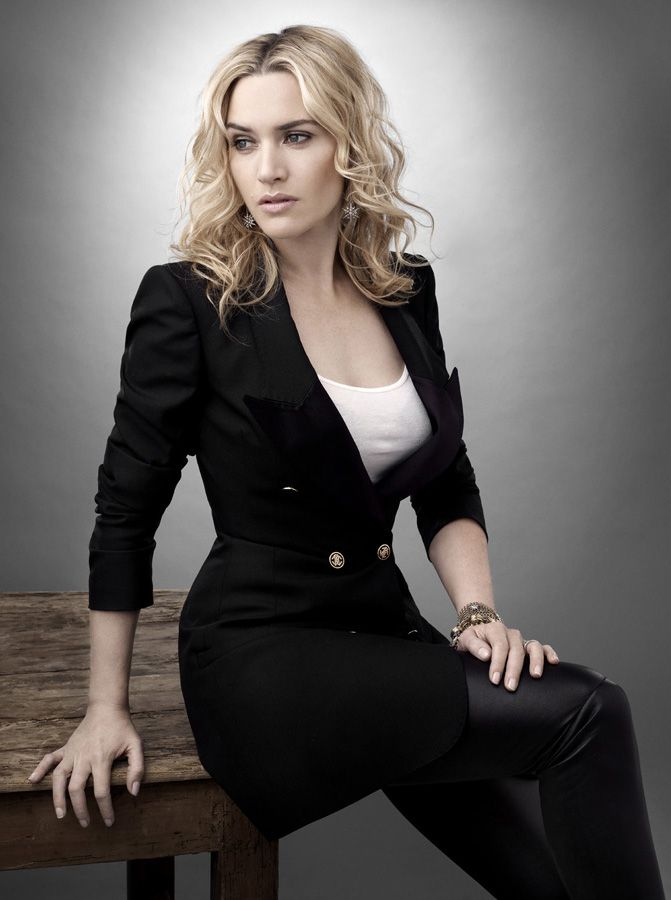 Kate Winslet. Always embraced her curvy figure and never apologized for who she was! Also talented as hell.