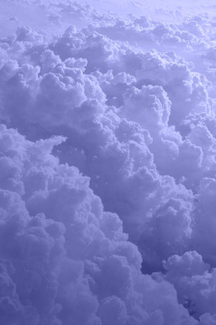 periwinkle clouds | Periwinkle, Purple aesthetic, Blue ...
