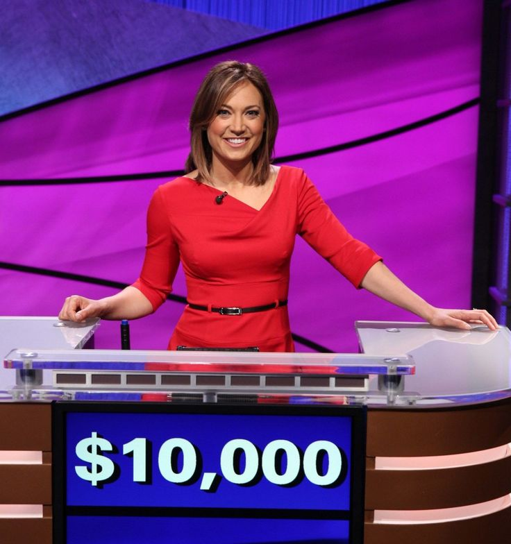 See how 'Good Morning America' meteorologist Ginger Zee fared on 'Celebrity Jeopardy!' | MLive.com