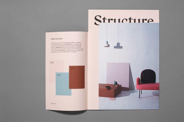 Norwegian Structure by Bielke & Yang, Norway. #branding #exhibition #magazine