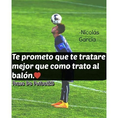 Te Lo Prometo   #frasesdefutbol #futbol #amorporelfutbol #pasionporelfutbol #pasión #frases #sharawy #balon #amor