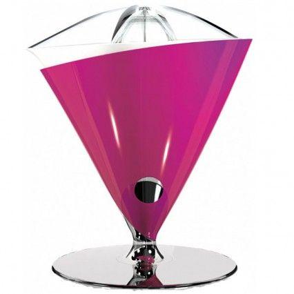Bugatti Vita Citrus Juicer - pink electric fruit juicer
