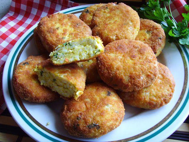 Kuchnia z widokiem na ogród: Kotleciki jajeczne,smaczne i chrupiace.
