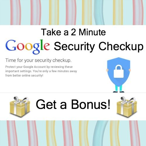 Do an Internet Security Checkup and Get a Bonus!  Happy Safer Internet Day! Are you celebrating? Well, if you are, you're at least a day late because Safer Internet Day was actually yesterday.   Loved this gift Carolyn! @wonderoftech #GoogleDrive