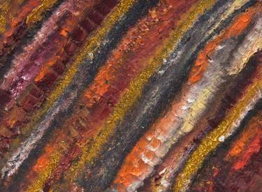 "Saatchi Art Artist Stephia Gonzalez; Painting, ""Golden Sand"" #art"