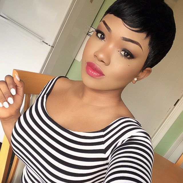 Short Hairstyles Black Hair 872 Best Short Hairstyles For Black Women Images On Pinterest