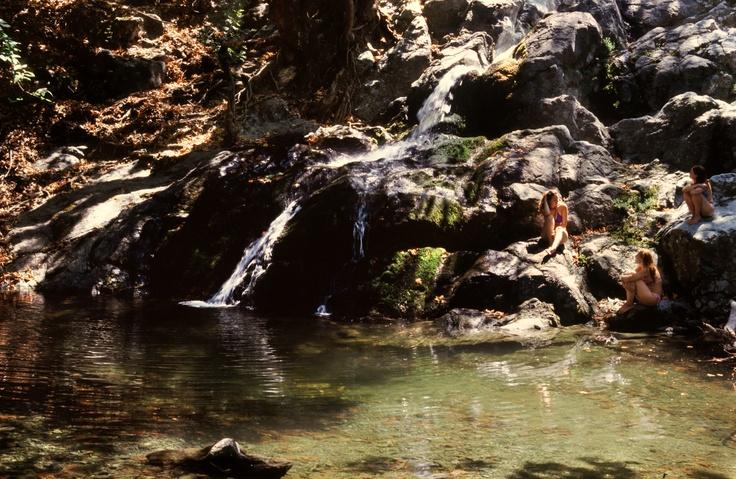 Samothrace island, Greece - Paradise pond.