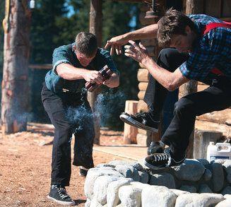Grouse Mountain: World-Famous Lumberjack Show