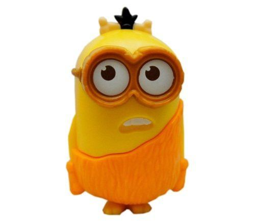 2015 McDonald's Happy Meal MINIONS - Talking Caveman Minion Toy #5 WTF ~ NEW! by United States