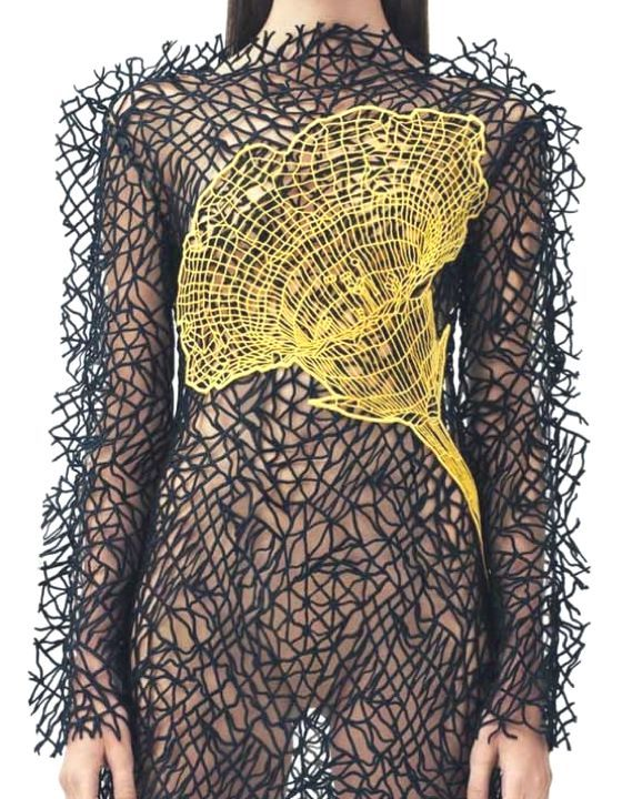 """patternprints journal it: MERAVIGLIOSI E INNOVATIVI PATTERNS CON EFFETTO """"WIREFRAME"""" NELLA COLLEZIONE MODA RESORT 2014 DI CHRISTOPHER KANE"""