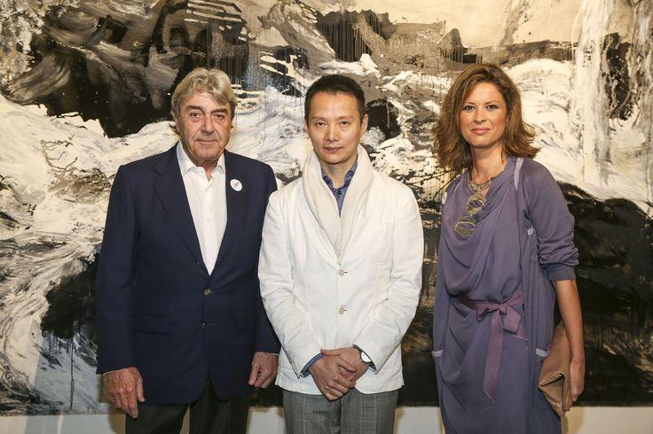 Alberto Cortina, Shen Wei y Elena Cué