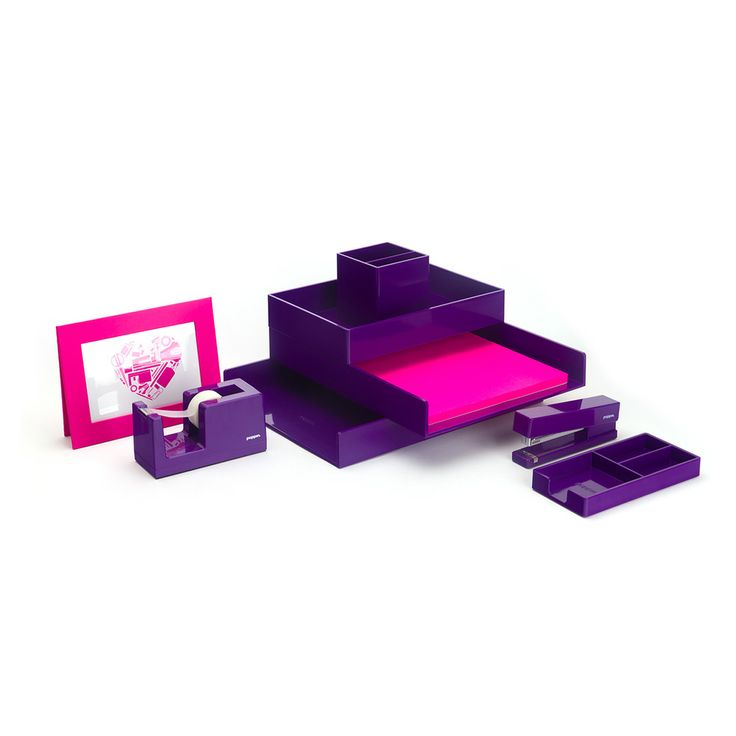 Purple Complete Outfit | Cool Office Supplies | Poppin