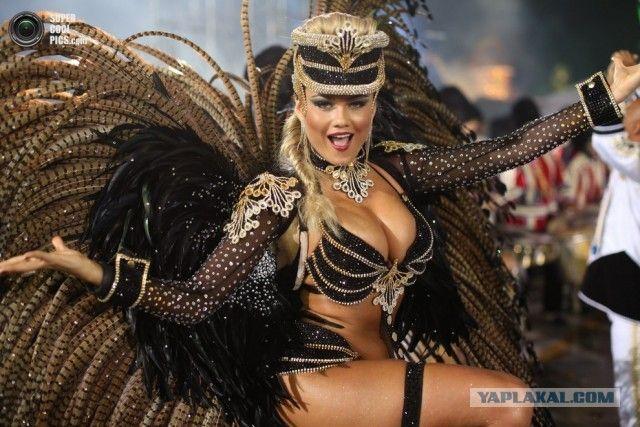Бразильский карнавал: Буйство красок, самбы и