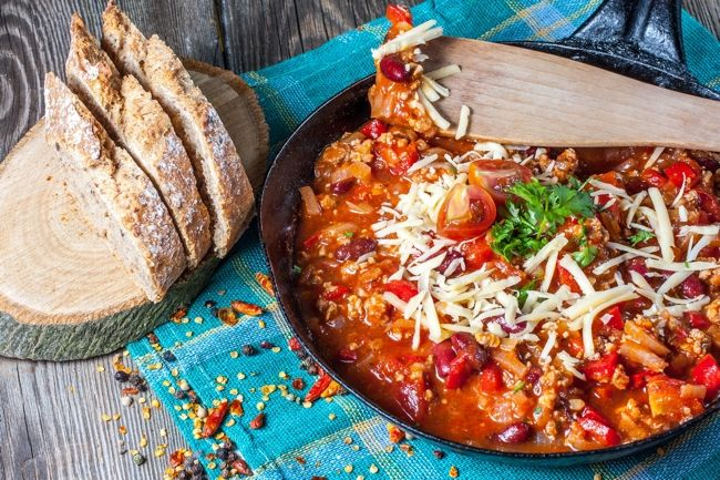 Weight Watchers SmartPoints Recipe: Skinny Pepperoni Pizza Chili, Easy ...