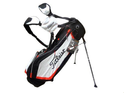 Titleist 2014 Ultra Lightweight Stand Bag: Black-White-Red http://suliaszone.com/titleist-2014-ultra-lightweight-stand-bag-black-white-red/
