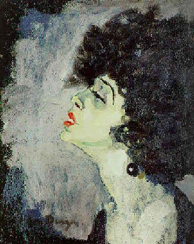 Kees Van Dongen , Chanteuse , 1908
