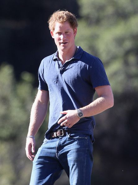 Prince Harry visits an outdoor centre on June 29, 2014 in Antaeaya, Chile.