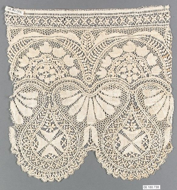 fragment 19th century lace