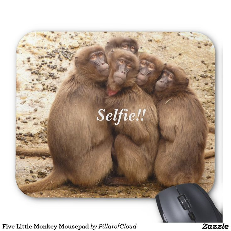 Five Little Monkey Mousepad