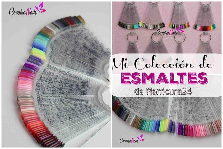 Colección Esmaltes Permanentes de Manicura24