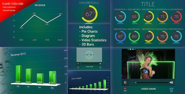 The template helps to create amazing 3D motion graphics! Graphs could be used in showing the stock market, teamwork, progress over time, growing wealth, investment, improving, etc.Easy to edit and add your details. #analysis #bar #business #chart #corporate #data #expression #graph #info #graphics, #infographics #information #presentation #statistic #template #after #effects