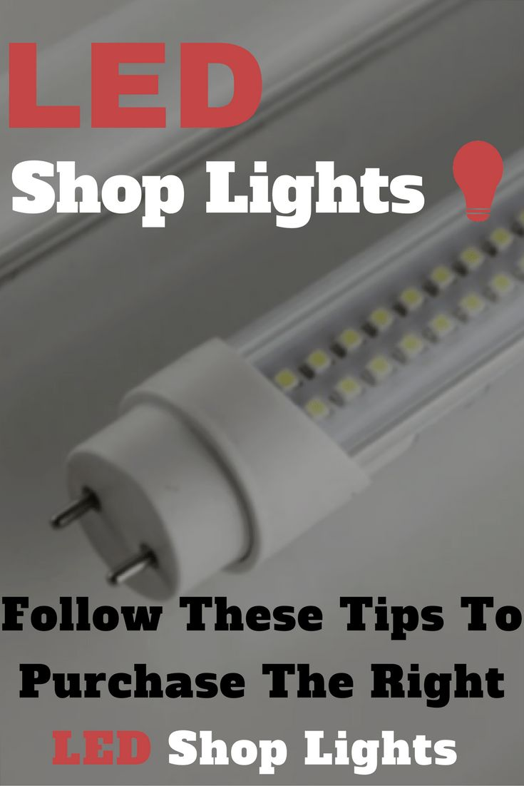 LED Shop Lights: Getting Started Guide   LED is becoming more and more afforadable for us as cosumers. Make sure you take the proper steps in purchasing the right lights the first time!   - Inside The Kerf