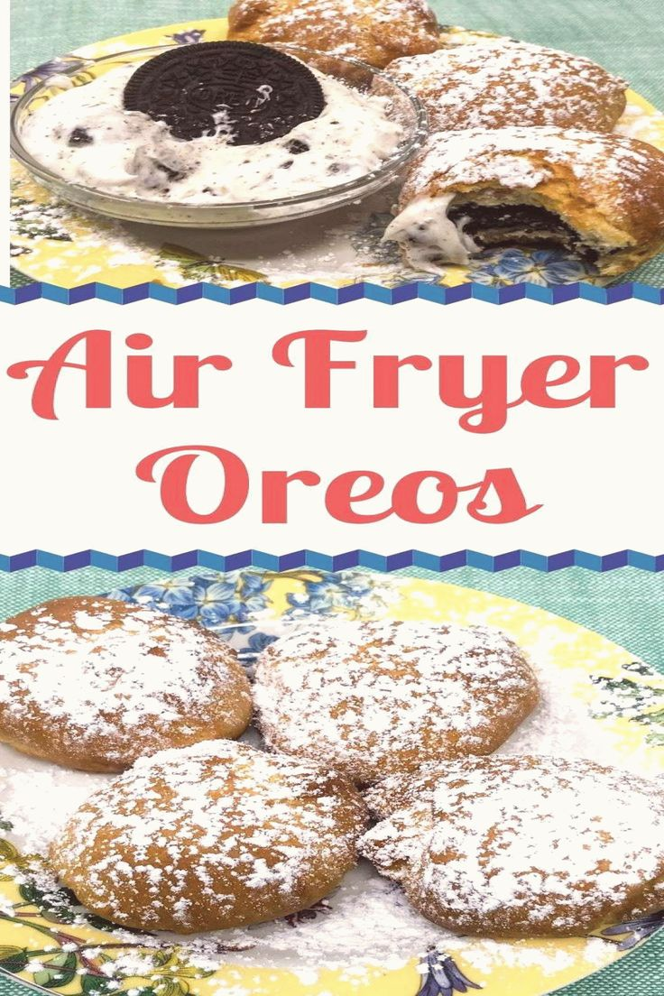 Air Fryer Oreos with Oreo Dip Grace Like Rain Blog Air