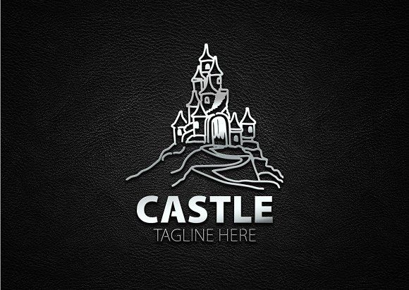 Castle Logo by eSSeGraphic on @creativemarket