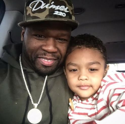 Rapper 50 Cent shares cute selfie with son