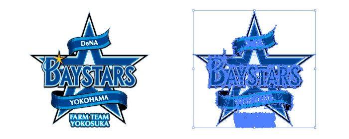横浜DeNAベイスターズ(Yokohama DeNA BayStars)のロゴマーク