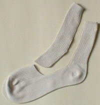 how to make doll socks from a child's sock