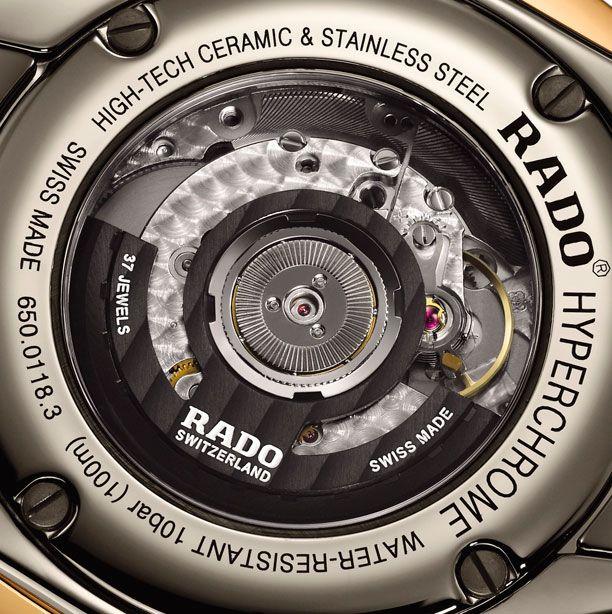 #Rado HyperChrome Tachymeter detalle del calibre