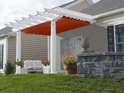 This company makes custom retractable cloth shade systems for all types and  sizes of pergolas. - 21 Best Pergola Blinds And Drapes Images On Pinterest Outdoor