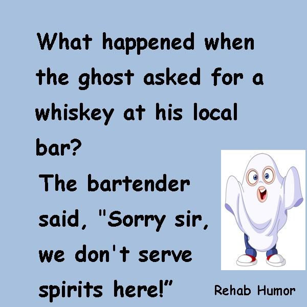 Ghost in a Bar Joke