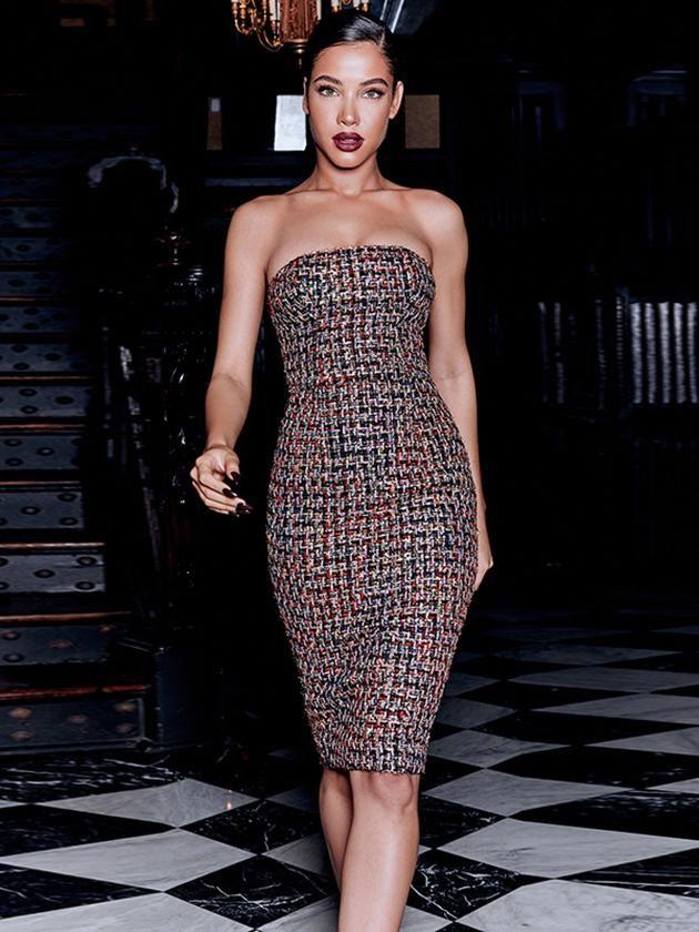 Fashion Off Shoulder Bodycon Dress