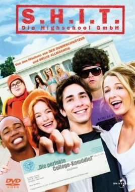 S.H.I.T. Die Highschool GmbH  2006 USA      IMDB Rating 6,4 (58.155)  Darsteller: Justin Long, Jonah Hill, Adam Herschman, Columbus Short, Maria Thayer,  Genre: Comedy,  FSK: o.Al.