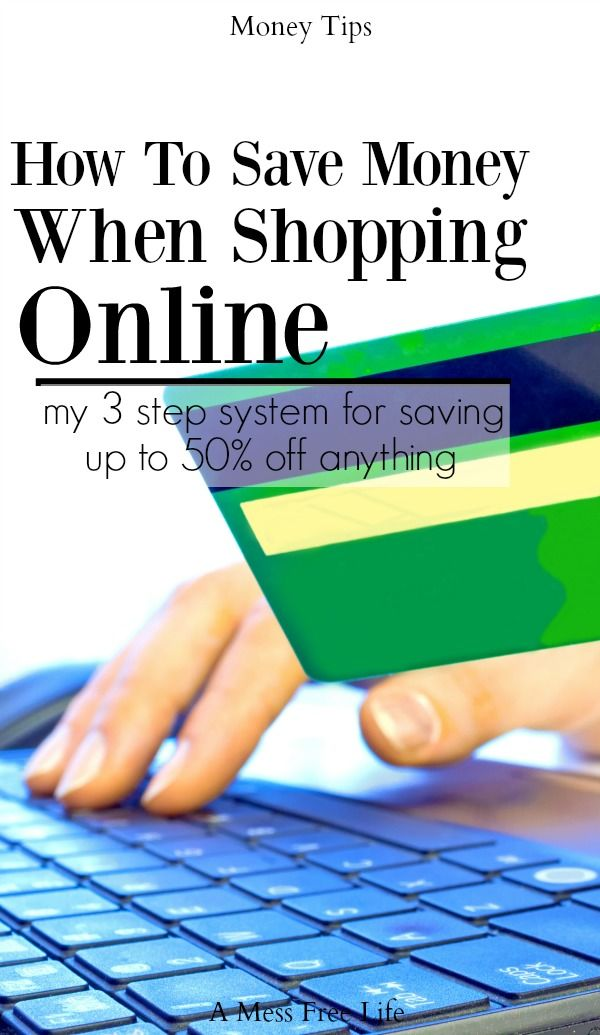 Ever wonder how the online shopping guru's can save so much money? They follow a simple 3 step system to ensure they are saving the most money sometimes up to 50% off and you can too! | Money Saving Tips | Budgeting | Frugal Living Tips | Online Shopping