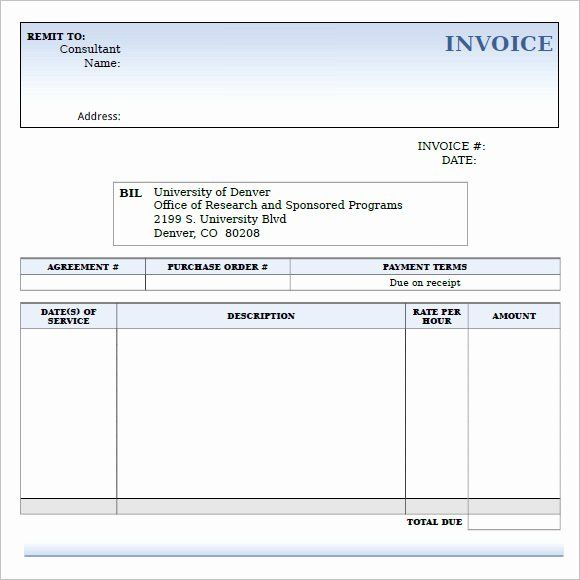 Invoice Template For Consulting Services Unique 10 Consulting Invoice Samples Word Pdf Invoice Template Word Invoice Template Invoice Sample
