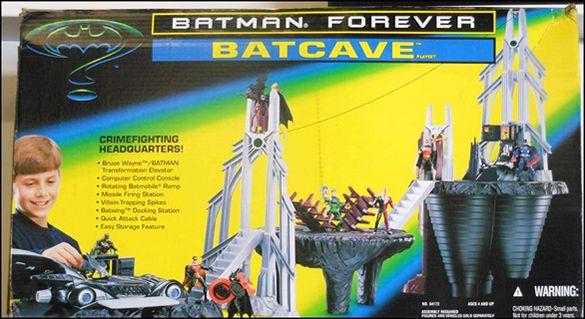 Batman Forever Batcave playset | 1990s | Batman, Batcave ...