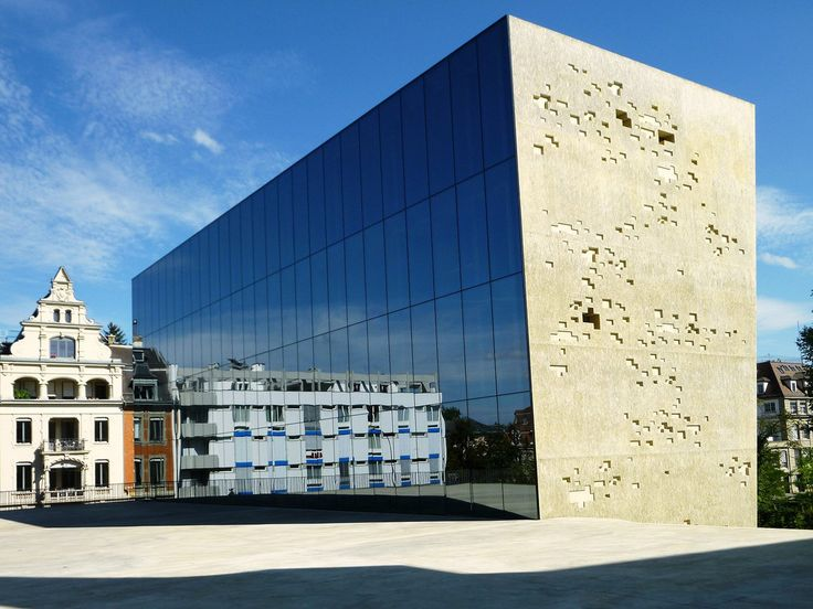 architecture framed: Titan/Kubus: Extension to the Historical Museum Bern (2001-2009) oeuvres architecturales