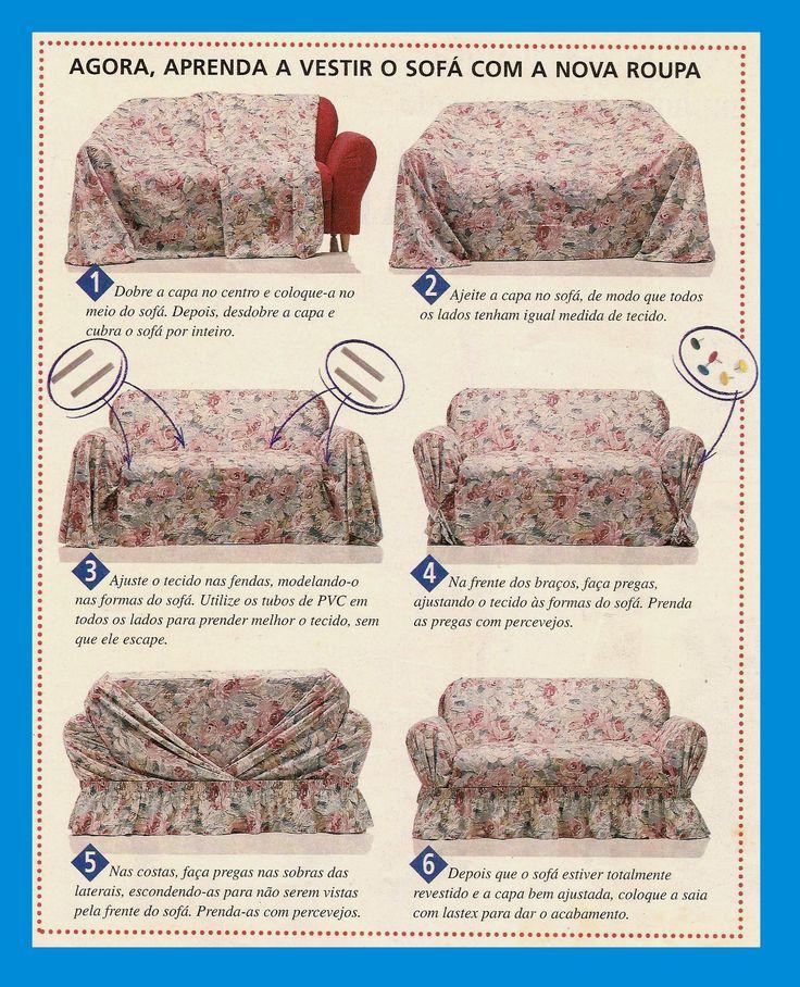 A rosa na janela: Capa para sofá