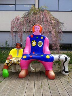 The Bench Generations - Niki de Saint Phalle