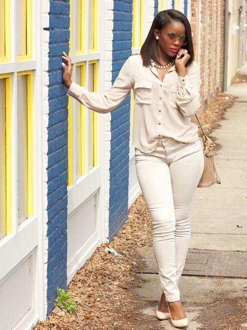 ecstasymodels:  NeutralsForever 21 top | Zara jeans | Zara bucket bag | Steve Madden pumpsFashion By Lover 4 Fashion