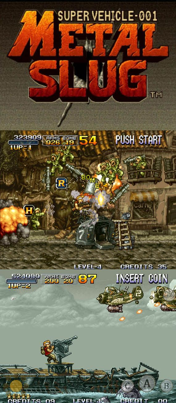 #RetroGamer #MetalSlug was one of the games that revitalize #arcades in the 90's! http://www.levelgamingground.com/metal-slug-review.html