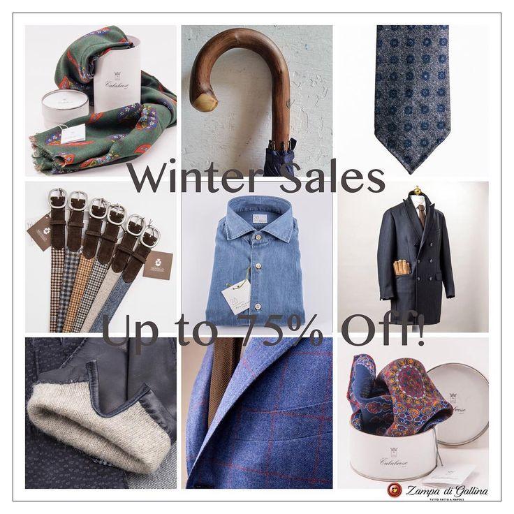 Sales begin on Zampa di Gallina store! http://www.zampadigallina.com/winter-sales.htm