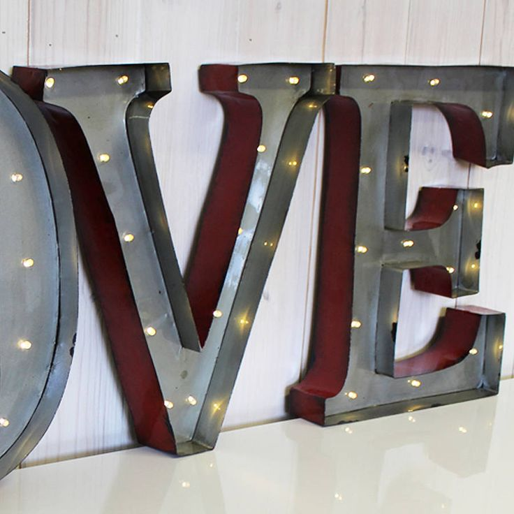 interiors products and metal letters on pinterest